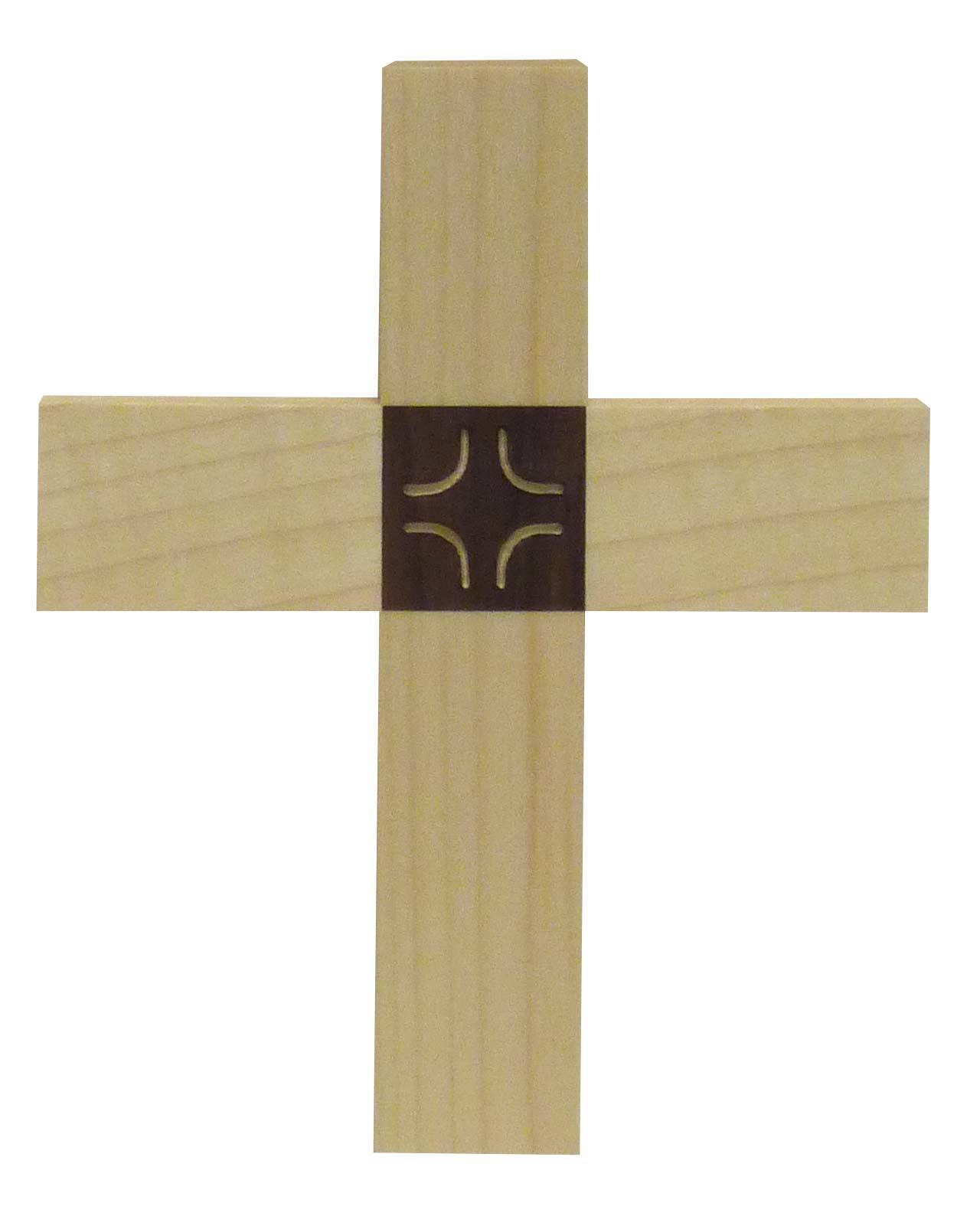 Kreuz aus Ahorn